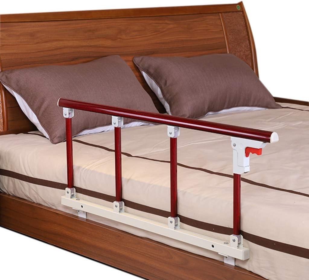 Barrera Cama Barandilla Cama Rieles de cama plegables portátiles para adultos mayores: protector de cama ajustable de metal para prevención de caídas ...