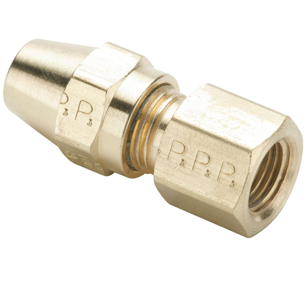 Parker 66AB-4-2-pk10 Air Brake D.O.T Pack of 10 Tube to Female Pipe Brass 1//4 Compression Style Fitting 1//8 1//4 1//8 Compression Connector Pack of 10