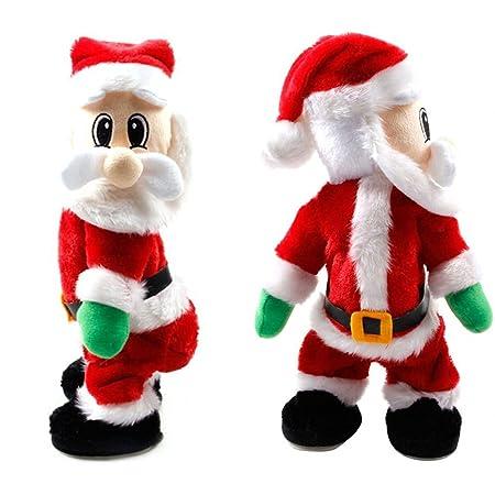 christmas animated santa claus figure twisted hip twerking twerked santa singing electric toys xmas decorations christmas - Christmas Animated Decorations