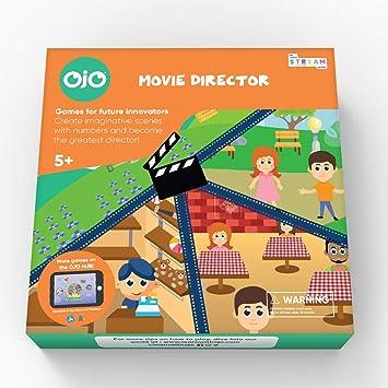 OjO Director de película, un Juego de Mesa de matemáticas para niños Hacen películas Mientras aprenden matemáticas y Resolver Problemas. A Partir de 5 años.: Amazon.es: Juguetes y juegos