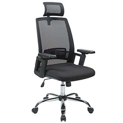 amazon com goplus morden black ergonomic desk task office chair