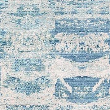 Amazon Com Momeni Harlow Truett Area Rug 2 X 3 Blue Ivory