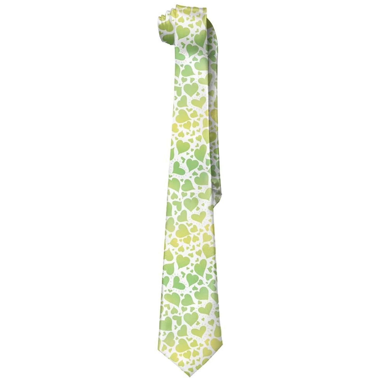Corbatas de seda para hombre con diseño de degradado verde: Amazon ...