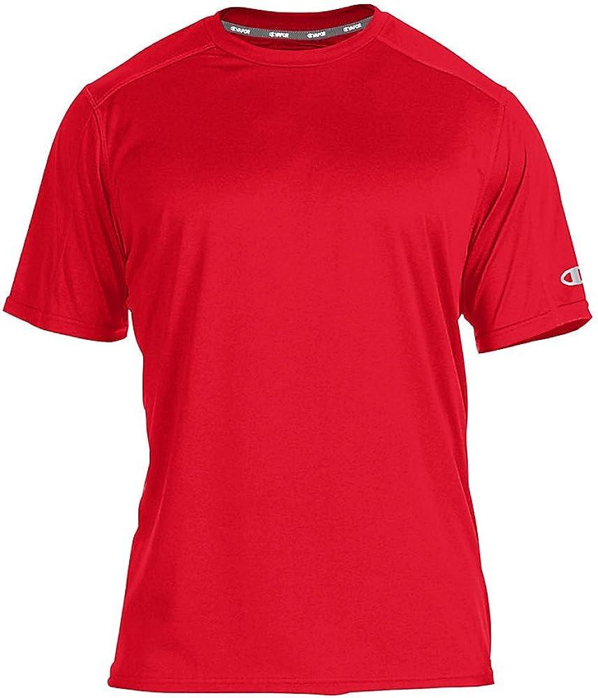 Champion Mens Big-Tall Powertrain Solid T-Shirt
