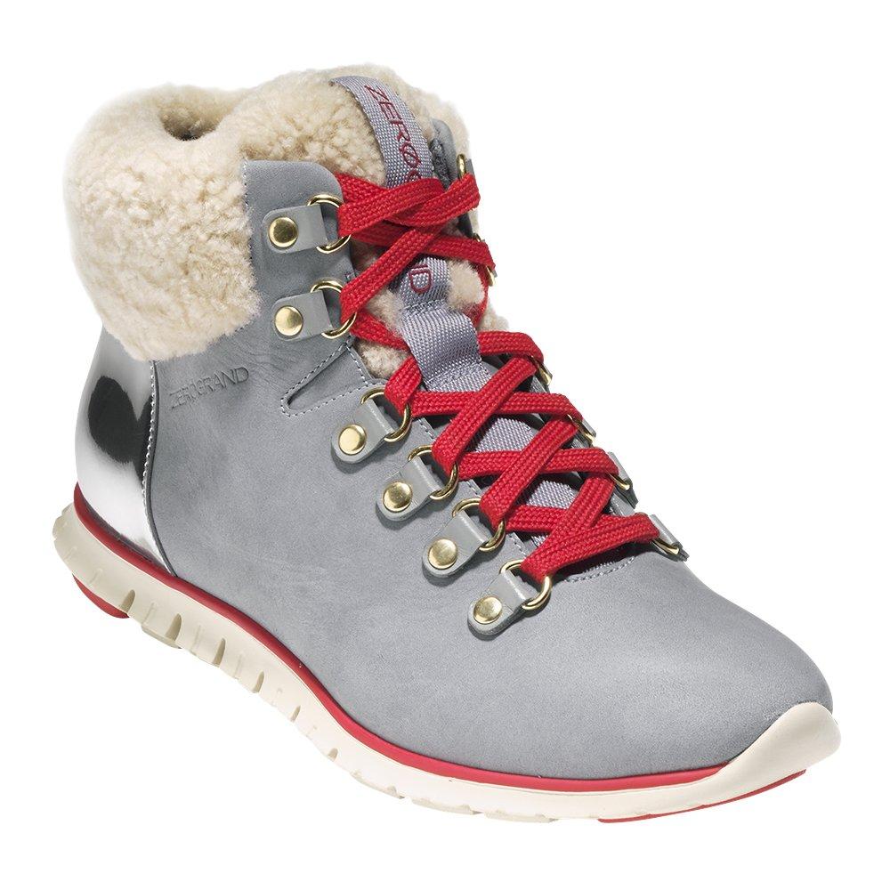 Cole Haan Women's Zerogrand Hikr Boot B076DC1K6K 5 B(M) US|Gray Waterproof Nubuck-argento-ivory She