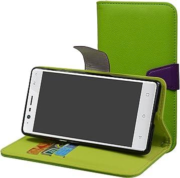 Nokia 3 5.0 Funda,Mama Mouth PU Cuero Billetera Cartera Monedero Con Soporte Funda Caso Case para Nokia 3 5.0 Smartphone,Verde: Amazon.es: Electrónica
