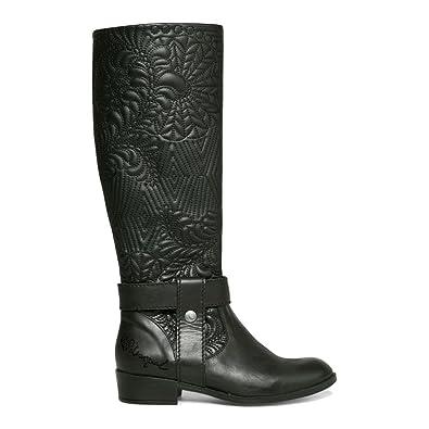 36 B(M) EU Chaussures Zamberlan noires homme Desigual - Bottes Desigual ref_des-41671-noir - 36 Chaussures de danse(Noir / Autre) -Personnalisables-Talon Personnalisé-Satin / Cuir / Cuir Verni-Latine / Moderne / Salsa   us9.5-10 / eu41 / uk7.5-8 / cn42  42 EU IN65f