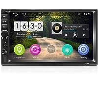 "Android Radio Coche 2 DIN, 7"" Pantalla táctil HD Quad-Core 2G + 16G Reproductor Multimedia para automóvil Soporte de…"