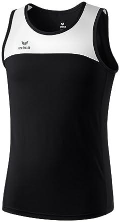 58bfcb49 Erima Race Line Children's Running Vest, Children's, Running Singlet Race  Line, black/