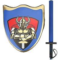 Akozon Taekwondo Kick Pad Boxing Karate Pad Escudo Espada Jugar Boxeo Entrenamiento Accesorios de Vestuario para niños(Azul)