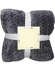 Rokirs Otoño invierno engrosamiento manta sólida sofá mantón de oficina manta caliente Mantas para cama