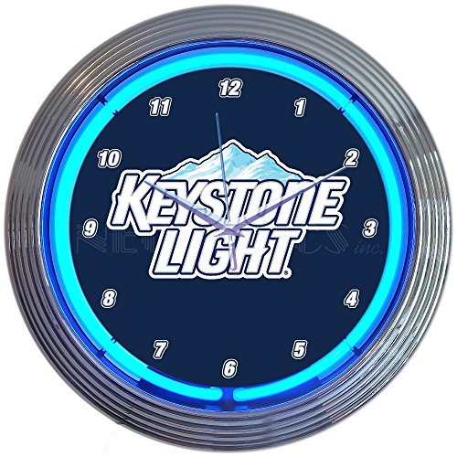 Neonetics Keystone Light Beer Neon Clock (Beer Neon Clock)