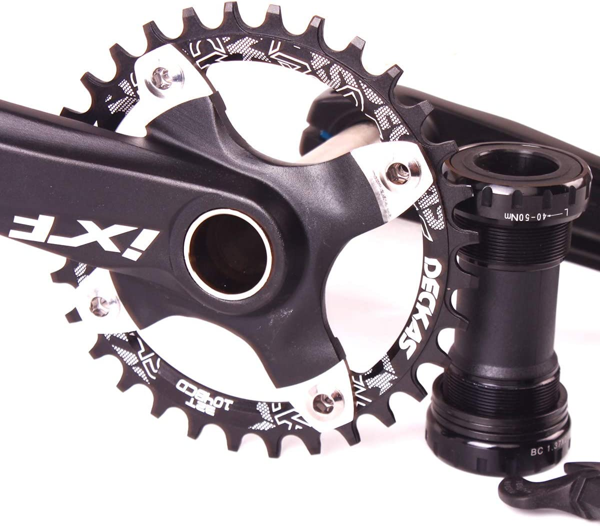 SRAM MTB Bike Crankset With BB 104BCD 32-42T Chainring 170mm Crank fit Shimano