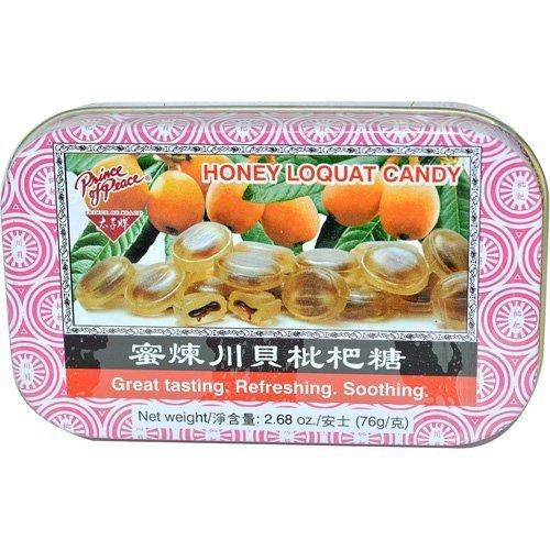 Han's Honey Loquat Candy - Counter Display - 2.68 Oz - 1 Case