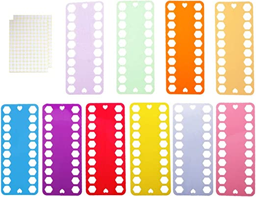 Organizador de hilo de bordar, 10 piezas de plástico de punto de ...