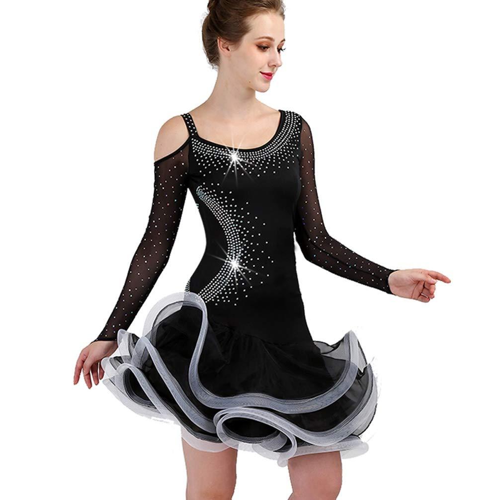 Wangmei Traje de Baile de Falda Latina para Mujer Vestidos ...