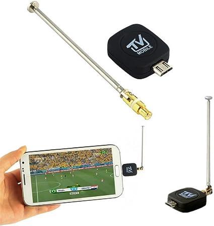 Neckip Mini Black Antenna para Android Tablet HDTV Mini DVB-T ...