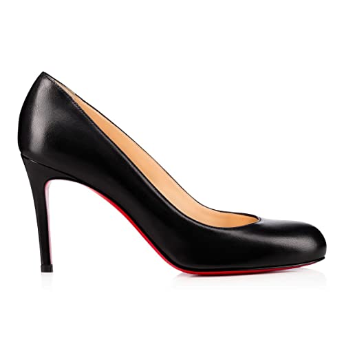 reputable site 483f4 1fec6 Christian Louboutin Women's 3160586BK01 Black Leather Pumps ...
