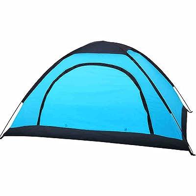 Deng Tente extérieure 2 personnes camping double tourisme camping tente de pêche à l'ombre de la plage