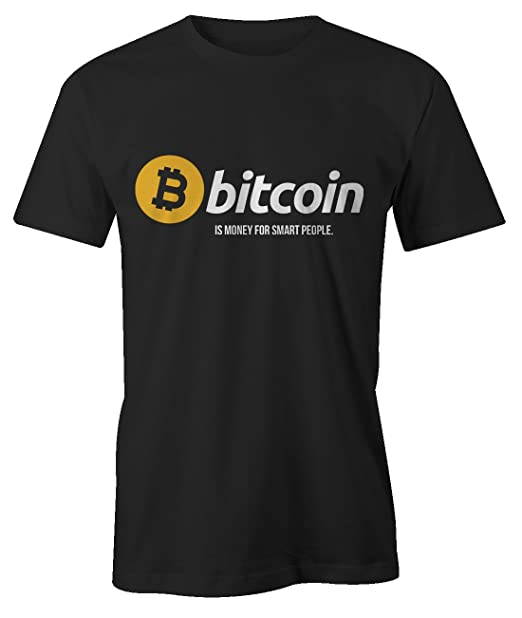 Bitcoin Money For Smart People Cryptocurrency BTC LTC Digital Currency T-Shirt Camiseta Hombres