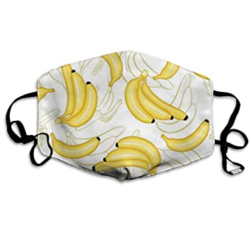 Susho9 Yellow Banana Allergy & Flu Mask - Comfortable, Washable Protection  from Dust, Pollen