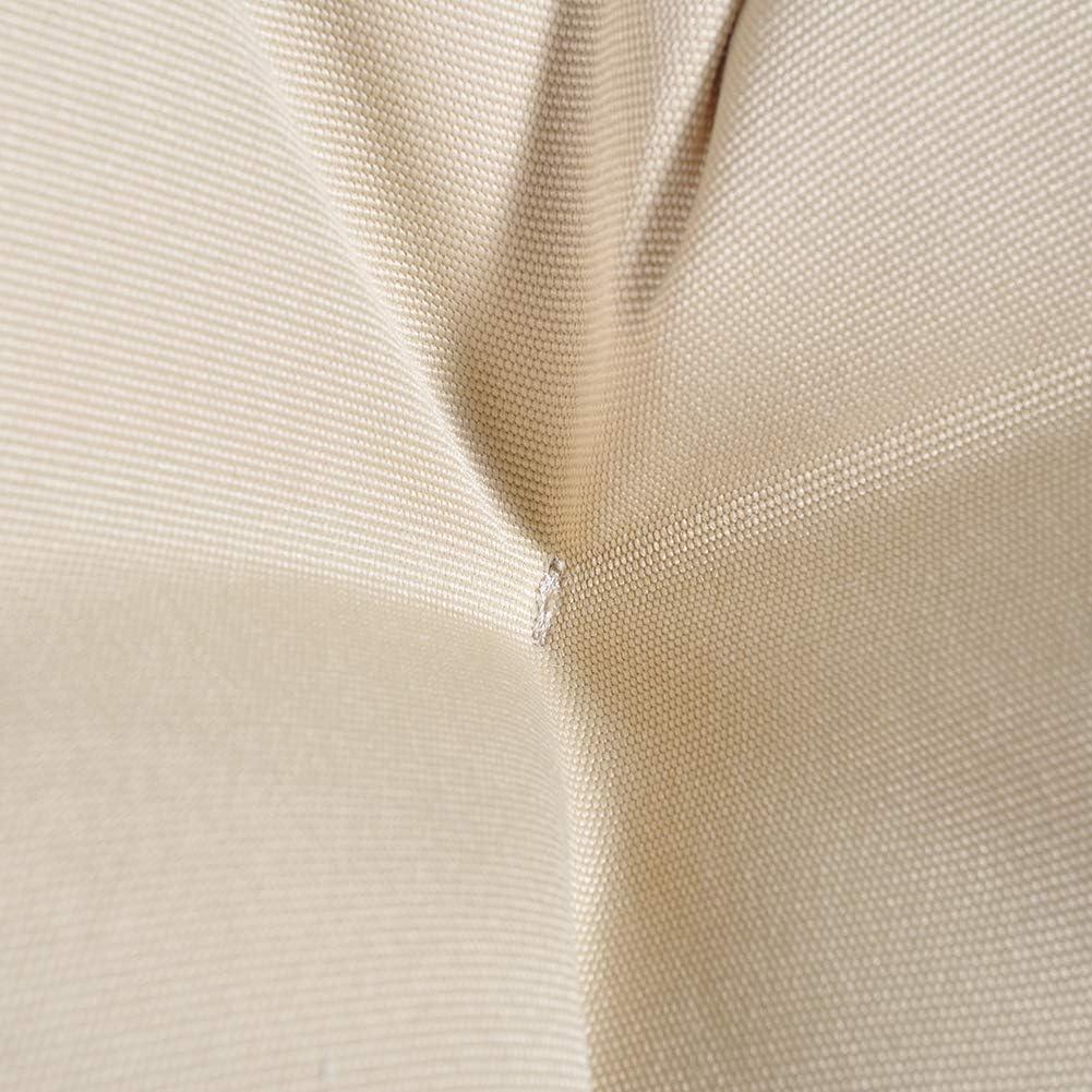 Khaki Solid Twill Fabric Khaki Cushion ATR ARTTOREAL Swivel Papasan Chair Thickness Cushions Indoor Outdoor Furniture Chair Deep Seating Moon Chair Glider