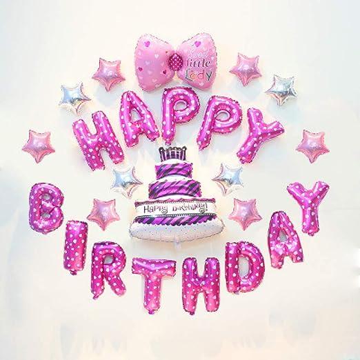 SMAQZ Globo de Dibujos Animados de decoración de cumpleaños ...