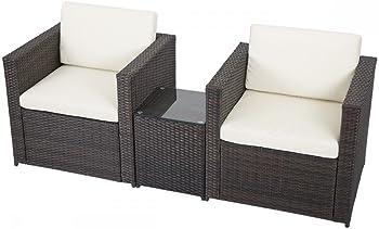 FDW 3-Piece Outdoor Patio Sofa Set