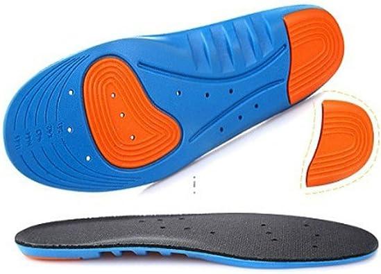 Bonarty 1 Par De Plantilla De Deporte De Los Hombres Plantilla De Gel Running: Amazon.es: Zapatos y complementos