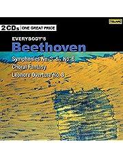 Beethoven: Symphonies, No. 3 & 6 [2 CD]