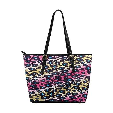InterestPrint Top Handle Satchel HandBags Shoulder Bags Tote Bags Purse Floral Embroidery Pattern