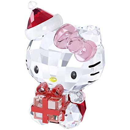 51f9bdc971 Image Unavailable. Image not available for. Color: Swarovski Hello Kitty  Christmas Gift Figurine