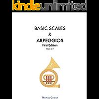 Basic Scales & Arpeggios: Horn in F (English