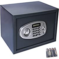 Display4top Electronic Coffre Fort - Noir (35*25*25 cm)