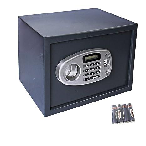 Display4top 14L Caja fuerte electrónica - negro (35 x 25 x 25 cm)