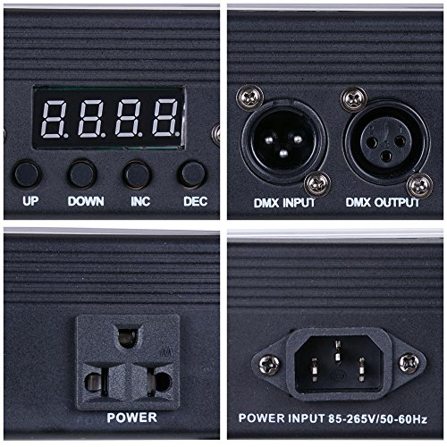 AW-252-LED-40-Wall-Washer-4-Channel-DMX-512-Bar-Flood-Light-30W-RGB-DJ-Club-Wedding-Party-Disco-Stage-Show-Band-Lamp