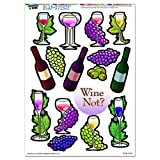 Best Graphics and More Books On Wines - Wine and Grapes - Glass Vine Olives SLAP-STICKZ(TM) Review