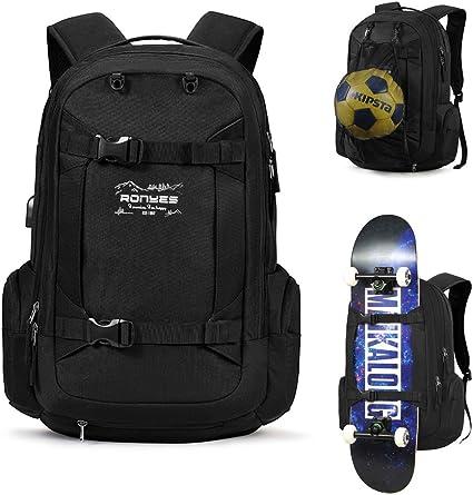 Skater Backpack School Bag Skateboarder Backpack Men Women Kids Backpack Gift for Skaters Skateboarders laptop Backpack,sac \u00e0 dos