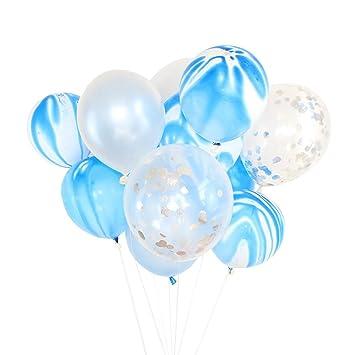12/'/' Foil Confetti Latex Balloons Helium Wedding Favor Birthday Party Decor