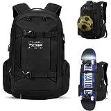 Skateboard Backpack Basketball Travel School Backpack 17.3 Inch Laptop Bag