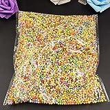 #7: 0.1-0.18Inch Colorful Styrofoam Balls Mini Foam Balls Decorative Ball DIY School Craft Supplies 8000PcsX1Pack (Mixed colors)