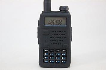 Das Gut SC-01 - Funda para radio Baofeng UV-5R, UV-5R Plus, UV-5RA (goma, suave), color negro: Amazon.es: Electrónica
