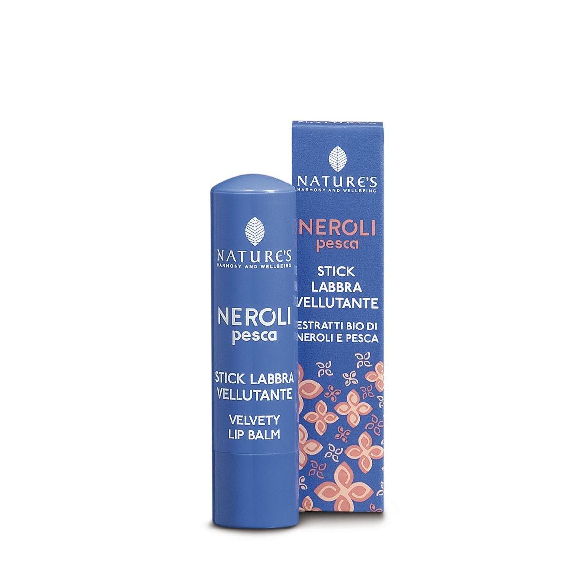 Neroli Pesca - Stick labbra vellutante - 5, 7 ml Bios Line