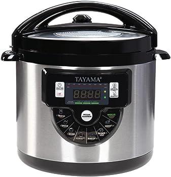 Tayama TMC-60XL 6 Qt. 8-in-1 Multi-Function Pressure Cooker