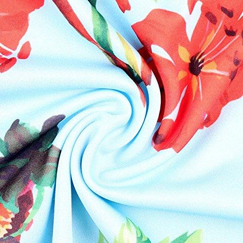 6 Pants Fit Pantaloni Modello Colpo Palazzo Fiore Elegante Vintage Grazioso Campana Giovane Women Libero Pantaloni Primaverile Autunno Pantaloni Slim Pantaloni Lunga Colour Tempo A Donna Moda wxwBqZH4
