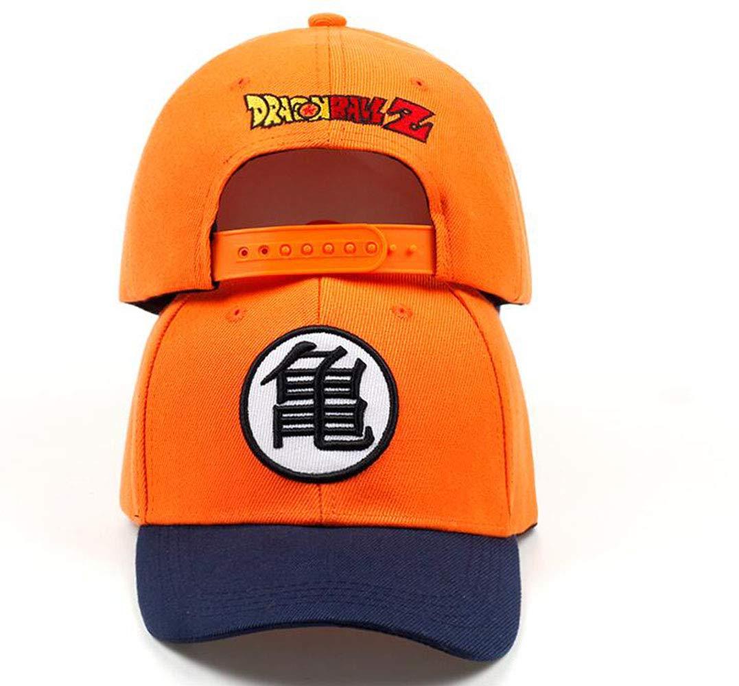 2Pcs Dragon Ball Z Goku Baseball Caps Hiphop Hats for Men Boy Unisex Dragonball Snapback Cap Adjustable Hat