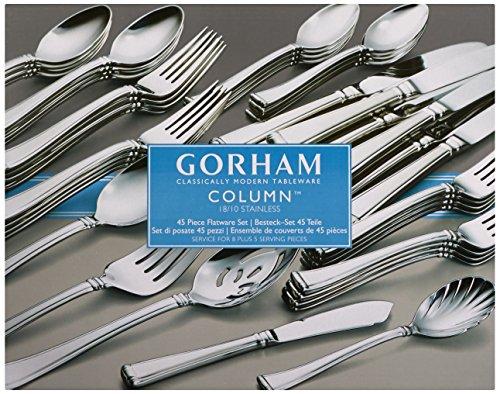 Gorham Column 45-piece Flatware Set by Gorham (Image #1)