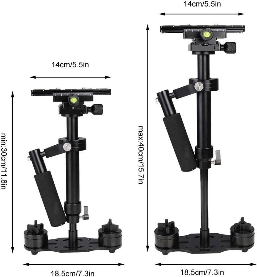 Koolertron S-40 40cm Mini Handheld Stabilizer for DSLR Camera Canon Nikon Sony