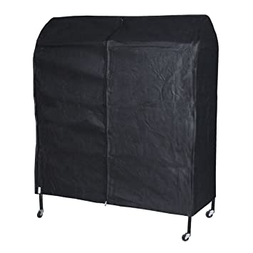 Hangerworld Funda transpirable protectora perchero móvil, 122 cm, color negro: Amazon.es: Hogar