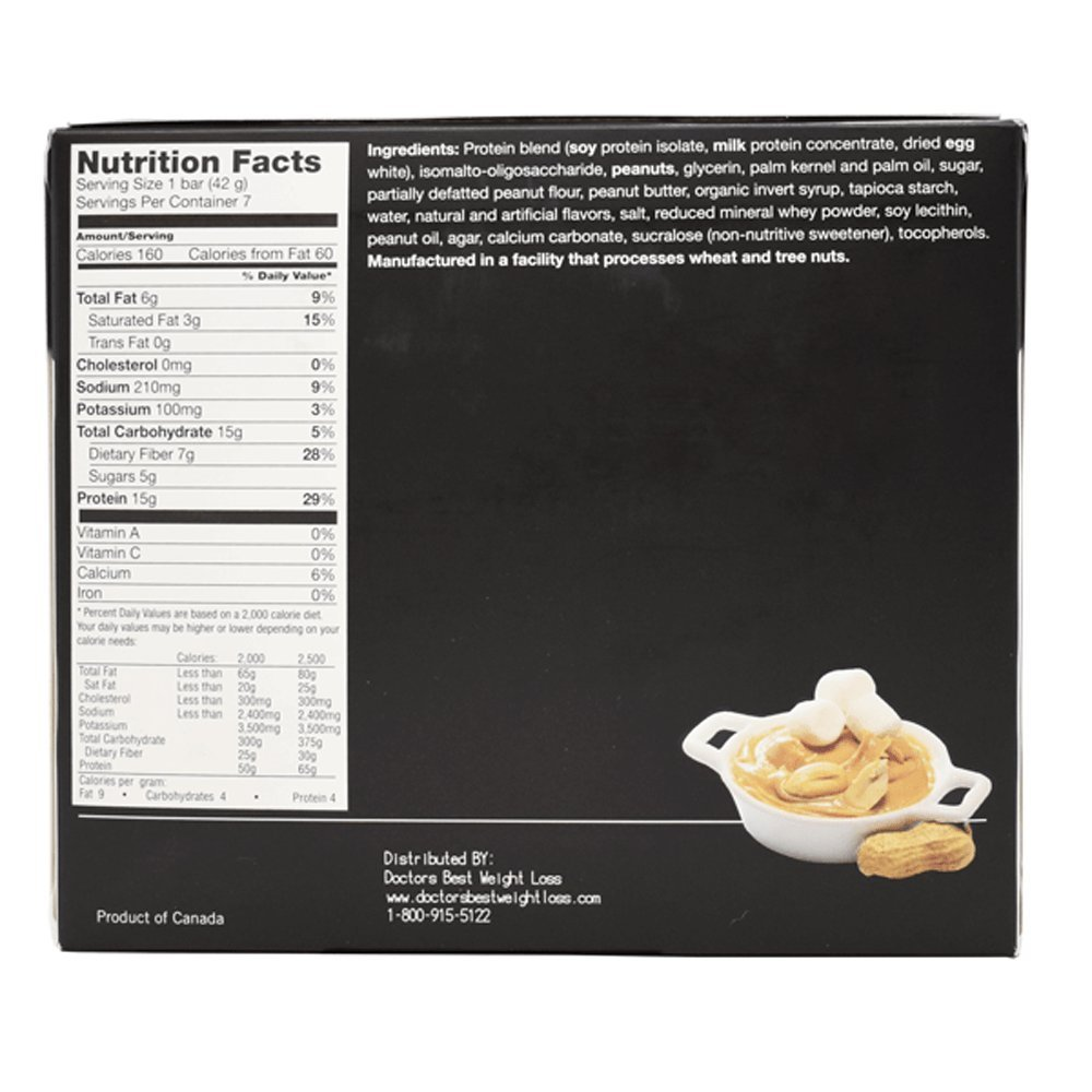 ProtiWise - Fluffy Nutter High Protein Diet Bars (12 Boxes)